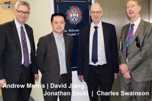 Edinburgh International Healthcare Andrew Morris, David Jiang, Jonathan Seckl, Charles Swainson